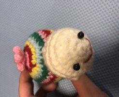 亀の編みぐるみ